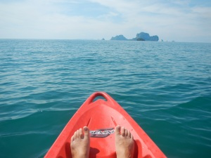 Railey Beach Thailand kayaking