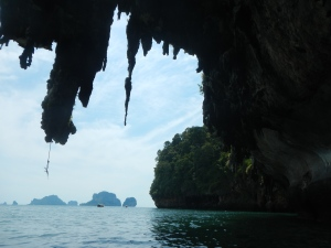 view from the kayak, Thailand
