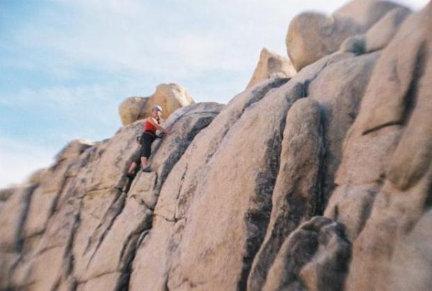 rock climbing jtree