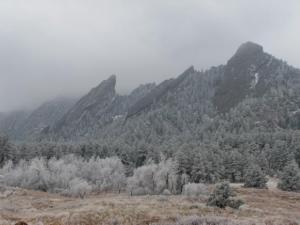 Frosty Flatirons