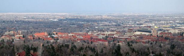 The University of Colorado Boulder campus