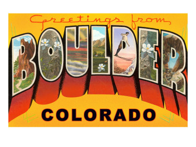 Welcome to Boulder, Colorado!