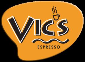 Vic's Espresso logo