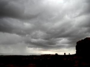 storm sky in arches