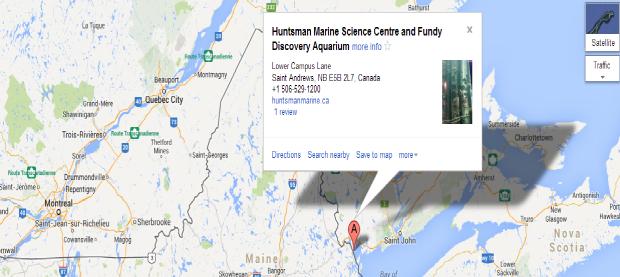 Google map of HMC