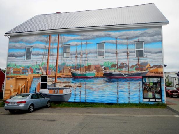 ship mural st andrews