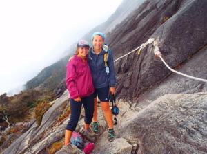 trekking Mt. Kinabalu Malaysia