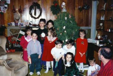 Smith cousins Christmas