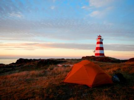 camping brier island