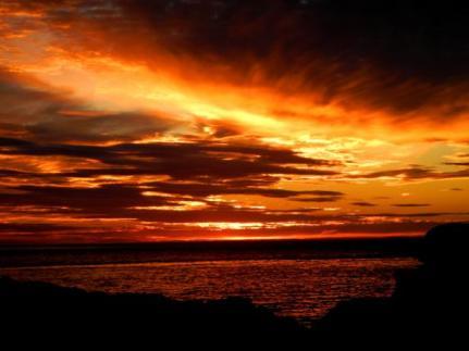 sunset view nova scotia