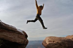 Utah leaping